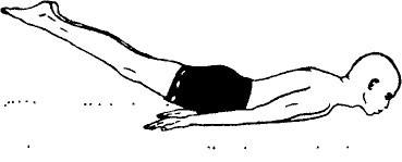 «Шалабхасана» - поза саранчи