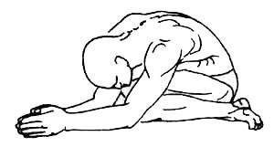 «Гомукхасана» - поза «коровья морда»