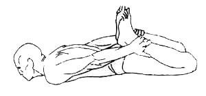 «Дханурасана» - поза лука