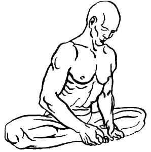 «Бхадрасана» - поза, приносящая благо