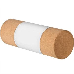 Пробковый ролик для Йоги (30х10 см) высокой плотности