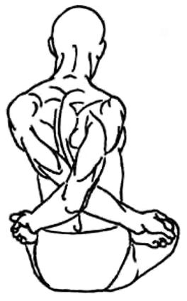 Баддха-падмасана